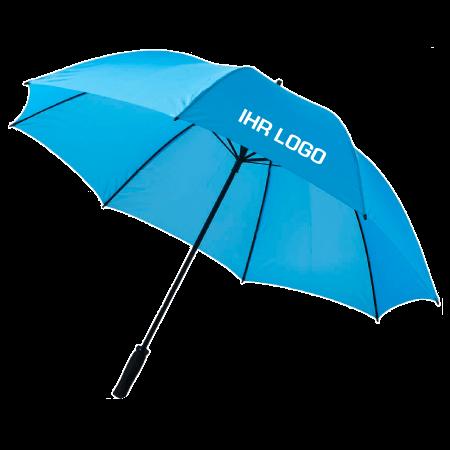 Regenschirm – blau mit Logo-Personalisierung