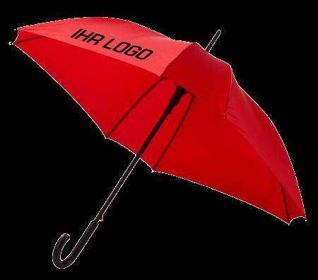 Regenschirm – rot mit Logo-Personalisierung
